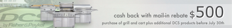 DCS Grill Cash Rebate