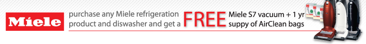 Miele Free Vacuum Rebate Offer
